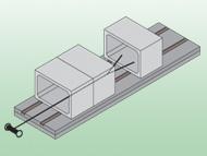 ボックスベアリング横引き工法