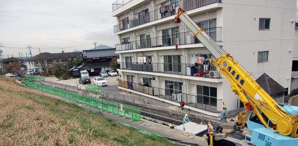ボックスベアリング横引き工法実績紹介(2011年6月記事再アップ)