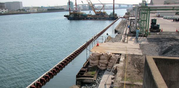 鋼矢板護岸の被覆ブロックのご紹介(工期短縮・耐塩害性5倍) (2014年7月記事再アップ)