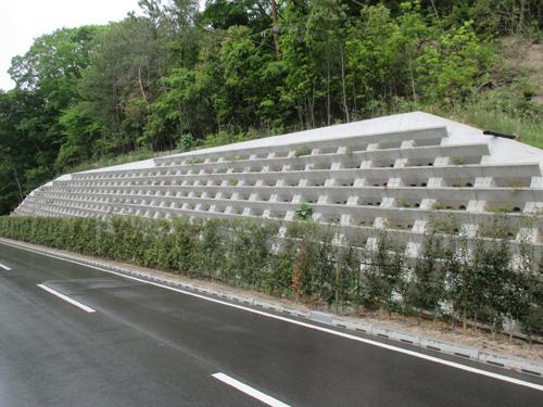景観配慮でおもてなし! 大臣認定「緑生擁壁」のご紹介