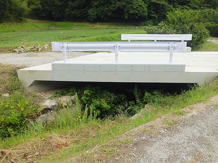 水替え不要で簡単施工!橋梁代替に門形カルバート!のご紹介