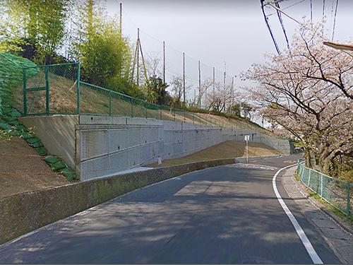 大阪府北部地震の影響確認 エコボックス 逆台形直積み擁壁 のご紹介