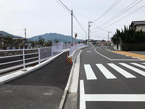 安全・安心な通学路が完成しました のご紹介